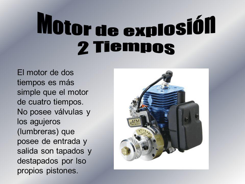 Motor de explosión 2 Tiempos