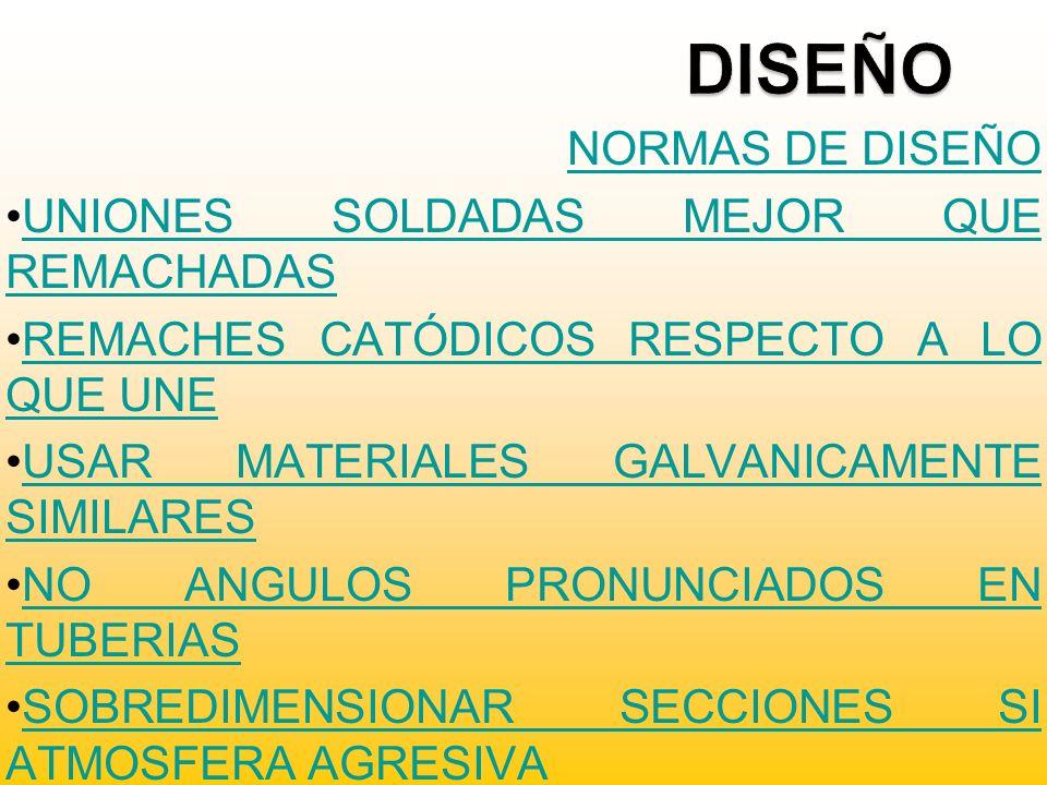 DISEÑO NORMAS DE DISEÑO UNIONES SOLDADAS MEJOR QUE REMACHADAS