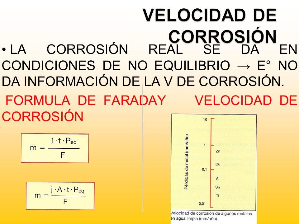 VELOCIDAD DE CORROSIÓN
