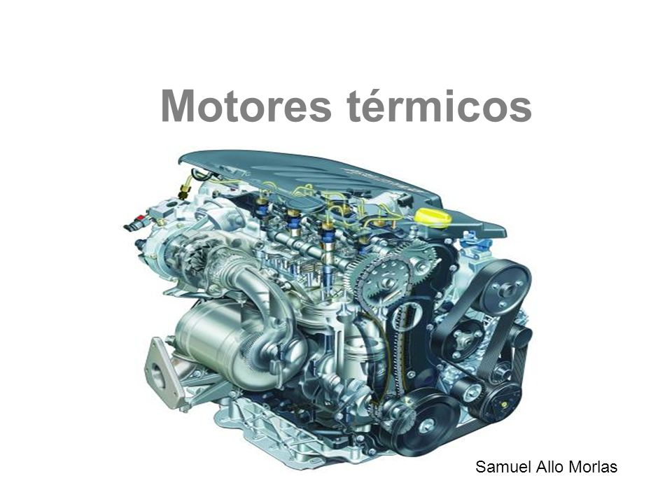 Motores térmicos Samuel Allo Morlas