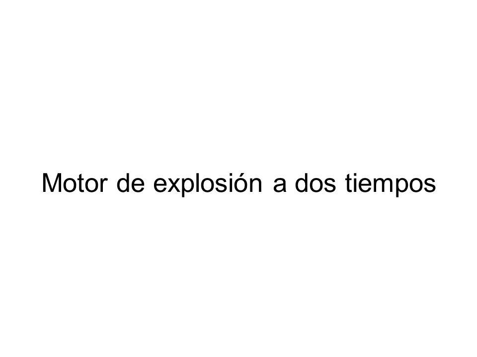 Motor de explosión a dos tiempos