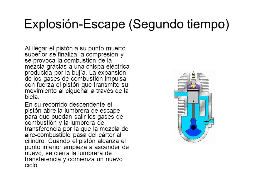Explosión-Escape (Segundo tiempo)