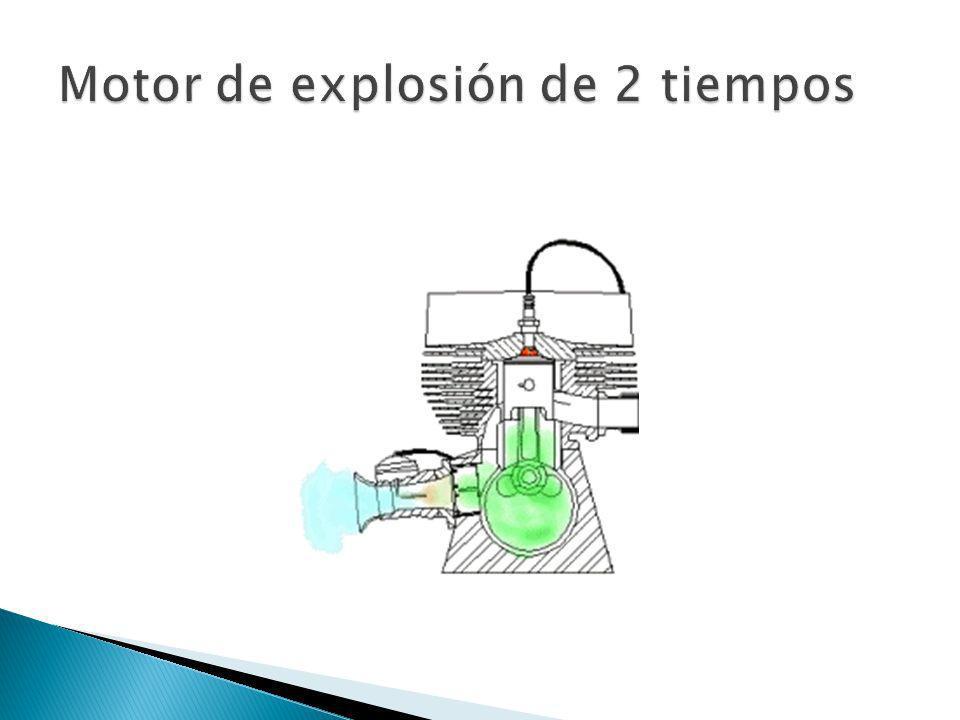 Motor de explosión de 2 tiempos