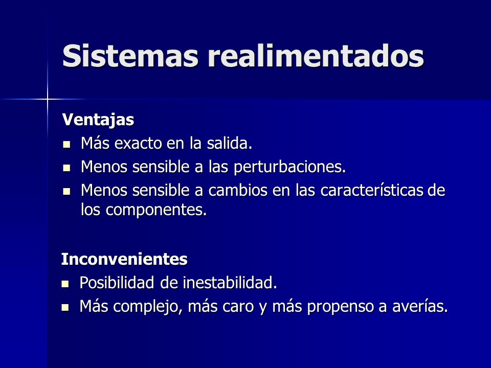 Sistemas realimentados