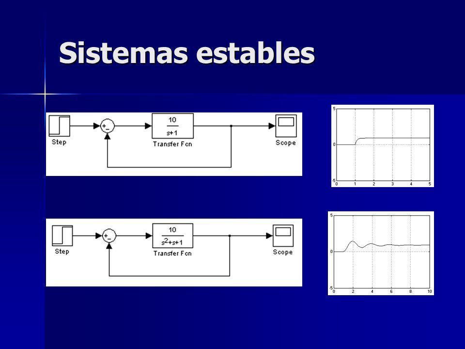 Sistemas estables