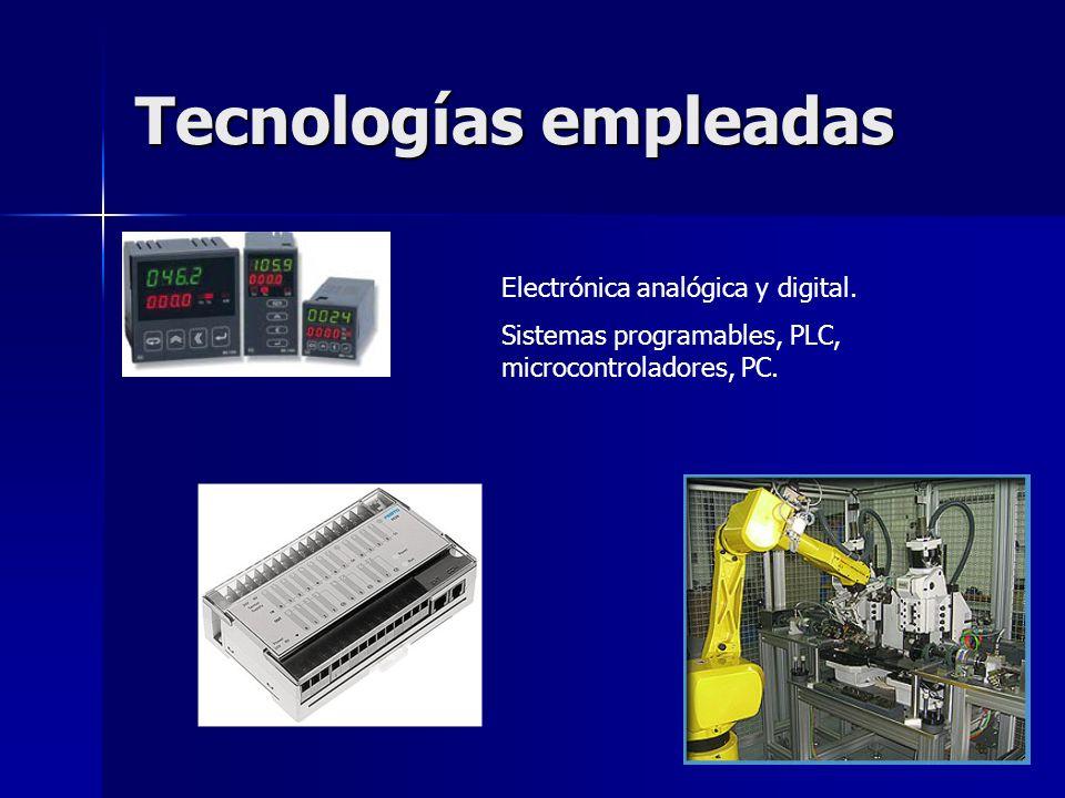 Tecnologías empleadas