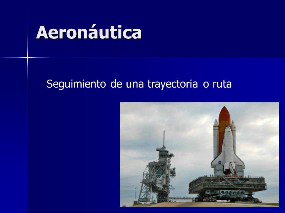 Aeronáutica Seguimiento de una trayectoria o ruta