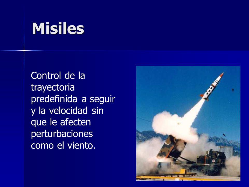 Misiles Control de la trayectoria