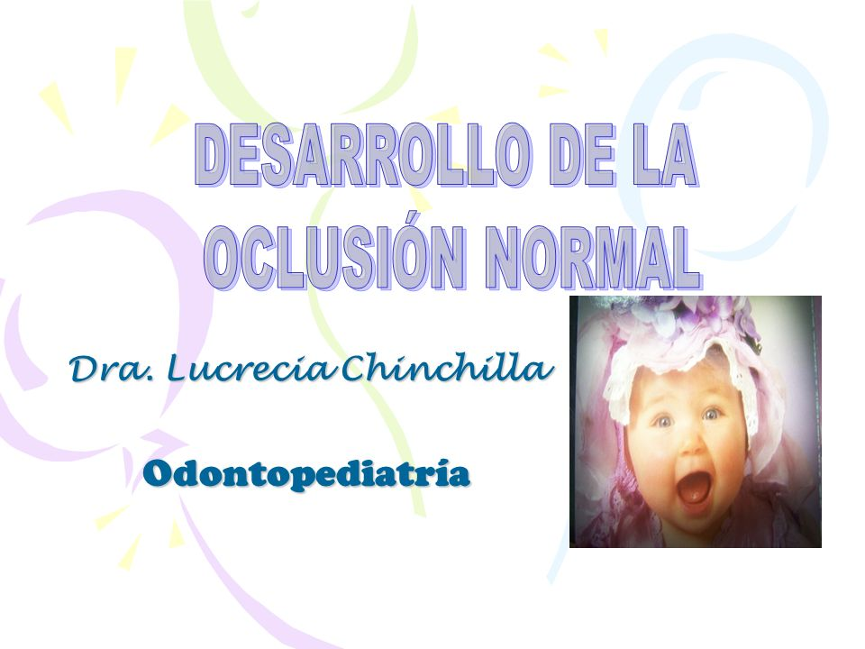 Dra. Lucrecia Chinchilla Odontopediatría