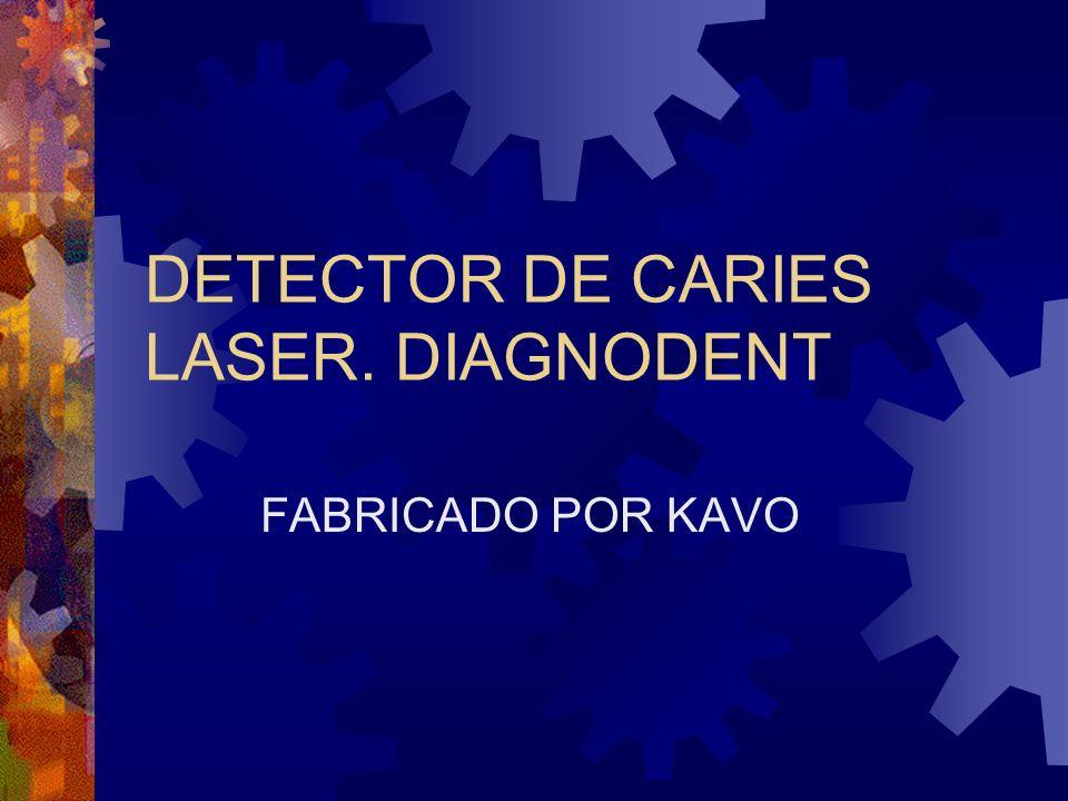 DETECTOR DE CARIES LASER. DIAGNODENT