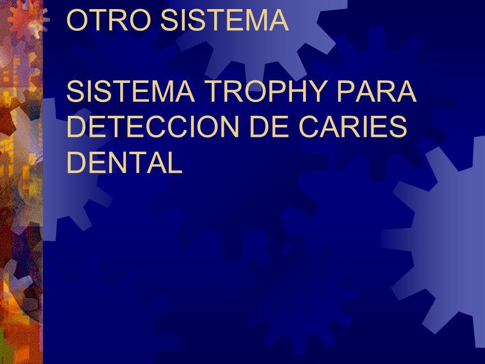 OTRO SISTEMA SISTEMA TROPHY PARA DETECCION DE CARIES DENTAL