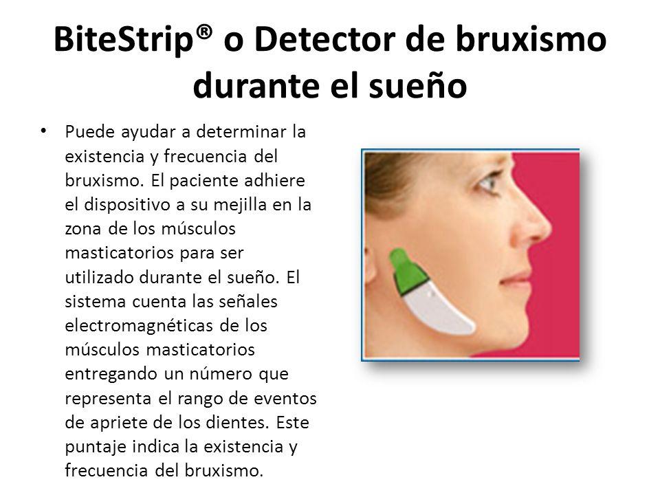 BiteStrip® o Detector de bruxismo durante el sueño