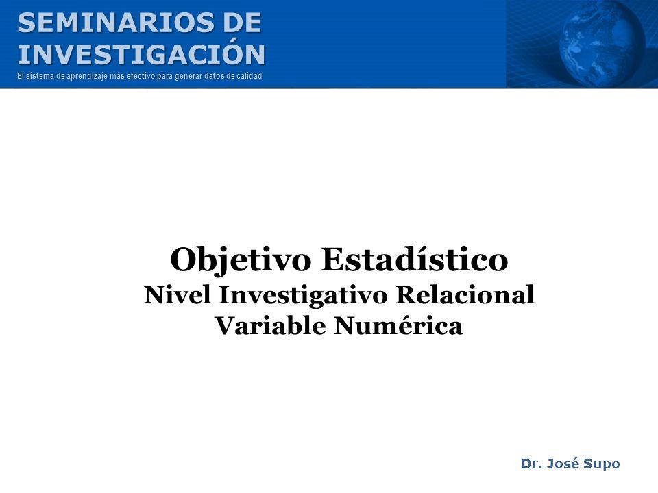 Nivel Investigativo Relacional