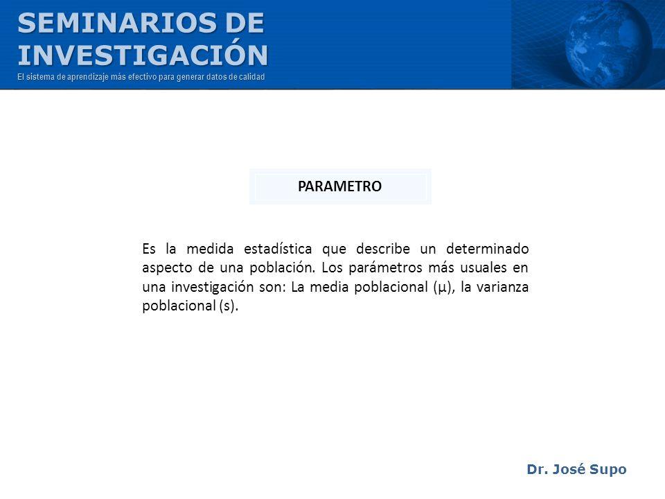 SEMINARIOS DE INVESTIGACIÓN PARAMETRO