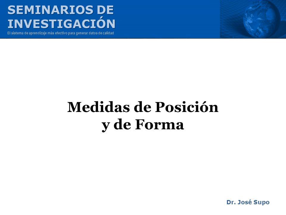 Medidas de Posición y de Forma