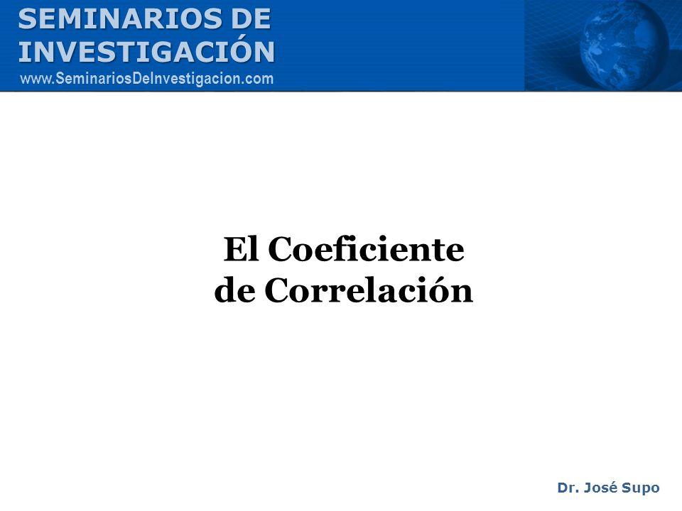 El Coeficiente de Correlación