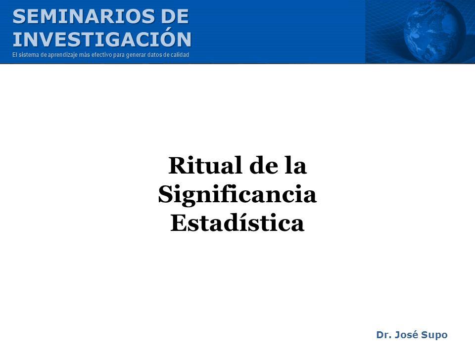 Ritual de la Significancia Estadística