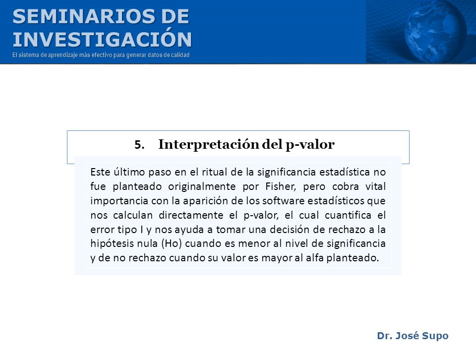 5. Interpretación del p-valor
