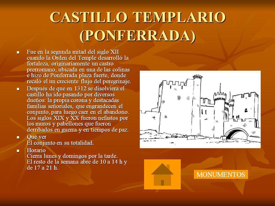 CASTILLO TEMPLARIO (PONFERRADA)