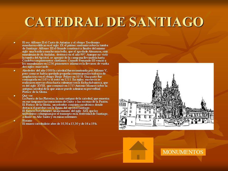 CATEDRAL DE SANTIAGO MONUMENTOS