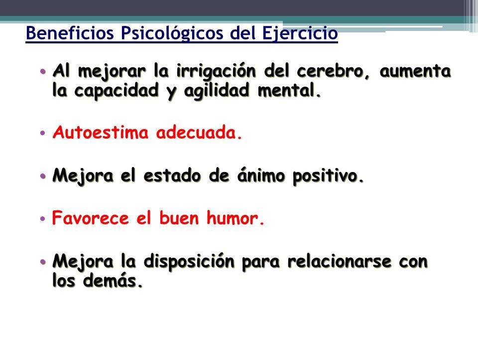 Beneficios Psicológicos del Ejercicio