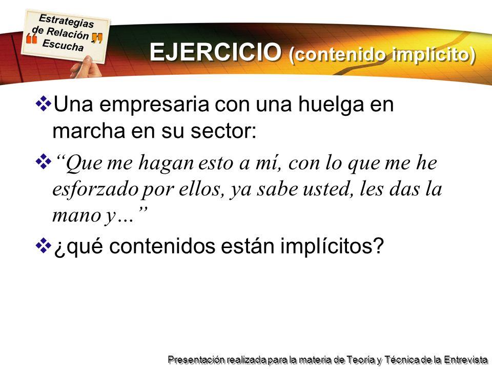 EJERCICIO (contenido implícito)