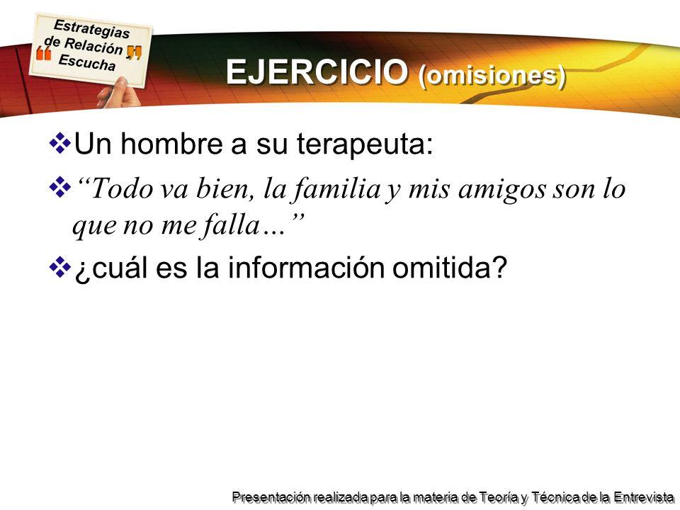 EJERCICIO (omisiones)