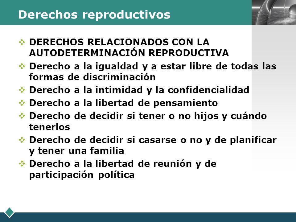 Derechos reproductivos