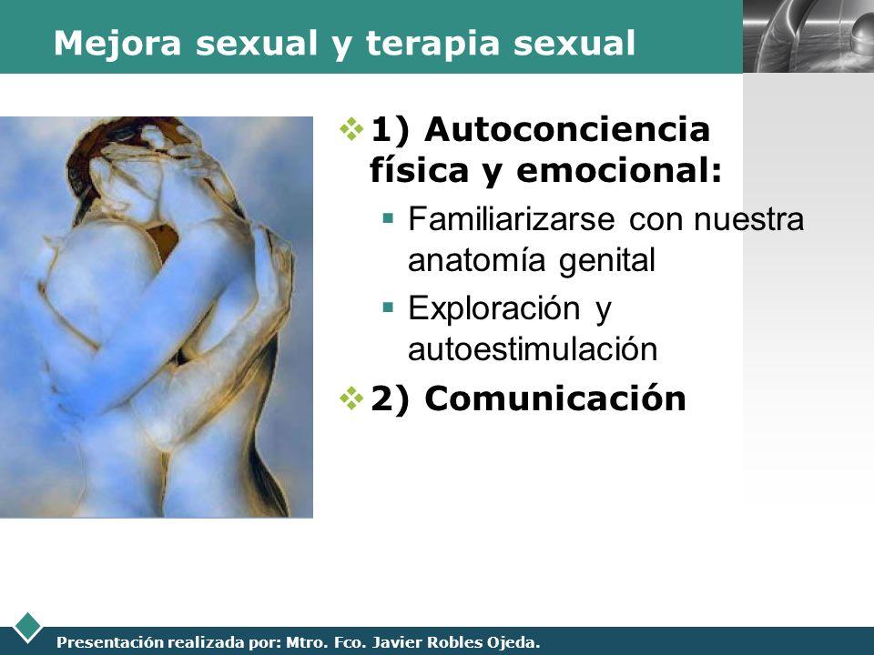 Mejora sexual y terapia sexual