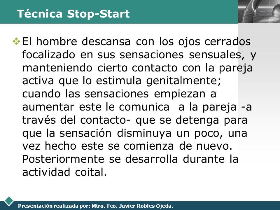 Técnica Stop-Start
