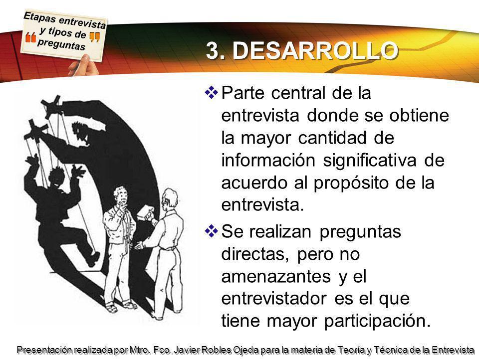 3. DESARROLLO