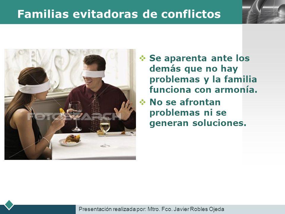 Familias evitadoras de conflictos