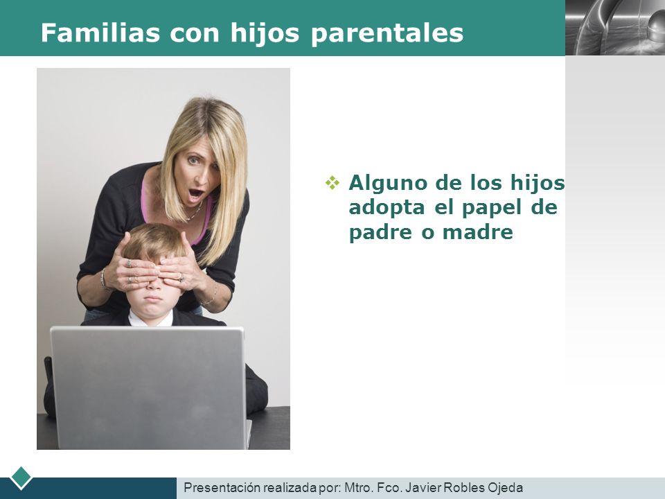 Familias con hijos parentales