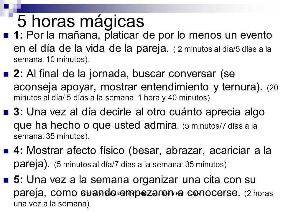 5 horas mágicas