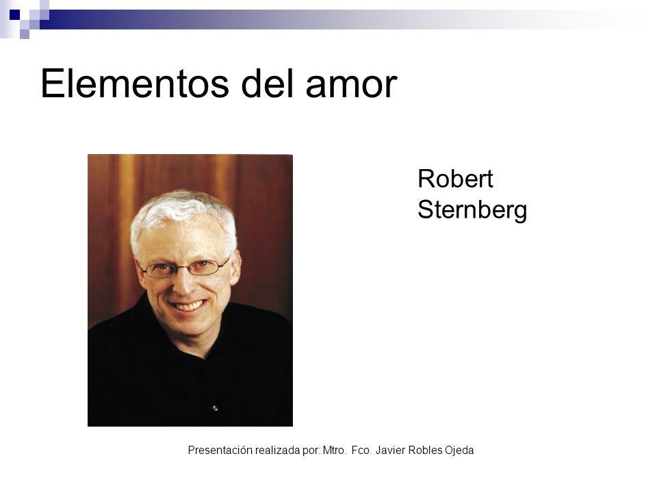 Elementos del amor Robert Sternberg