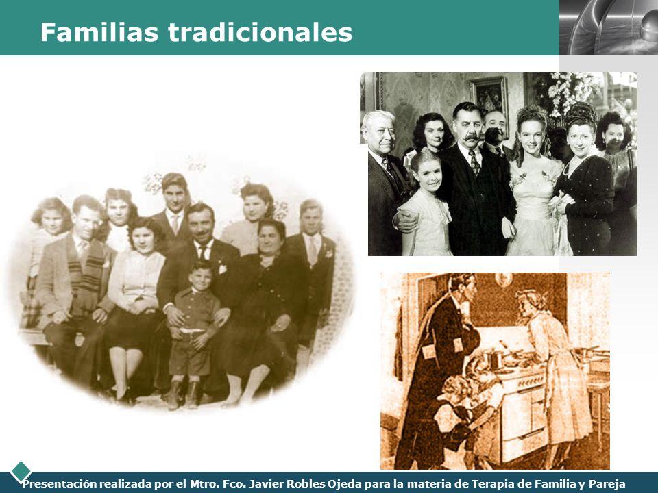 Familias tradicionales