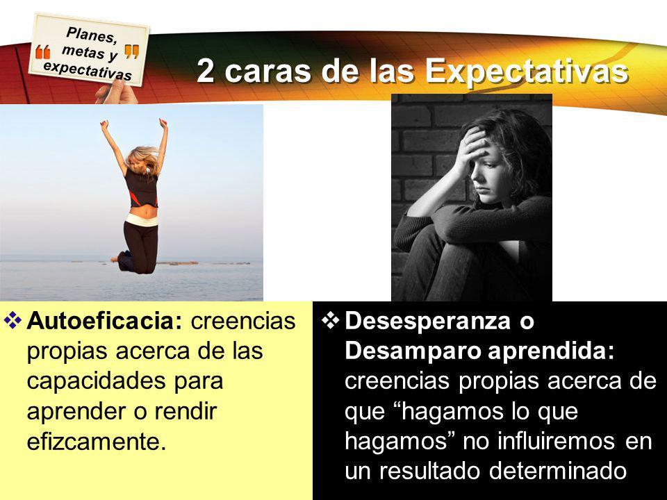 2 caras de las Expectativas