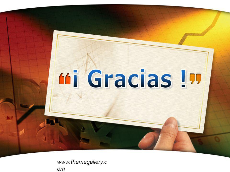 ¡ Gracias ! www.themegallery.com