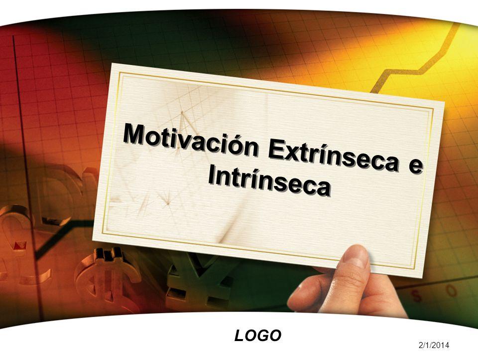 Motivación Extrínseca e Intrínseca