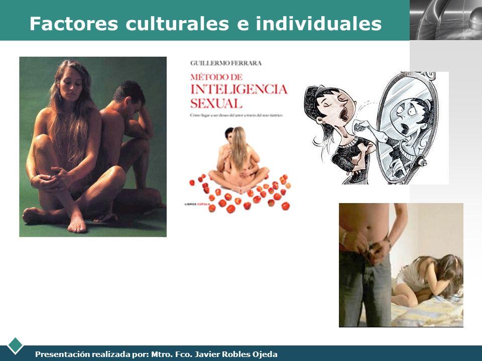 Factores culturales e individuales