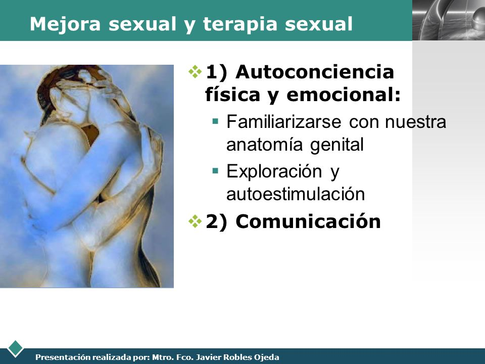 Mejora sexual y terapia sexual