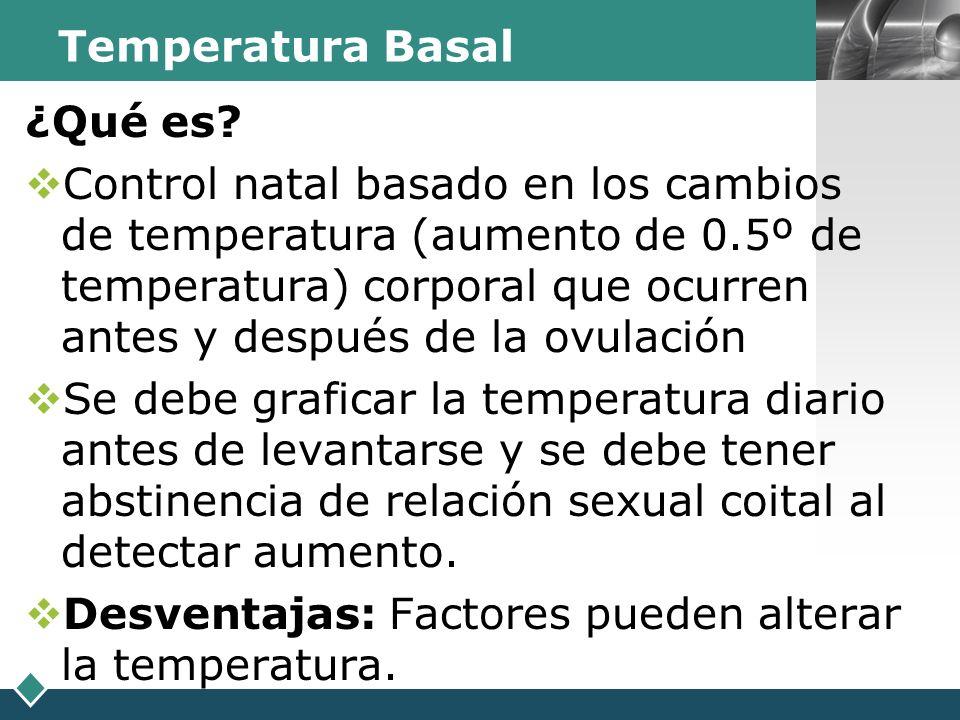Temperatura Basal ¿Qué es