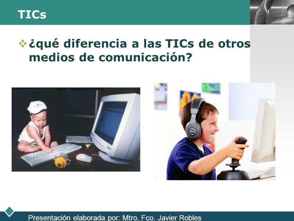 ¿qué diferencia a las TICs de otros medios de comunicación