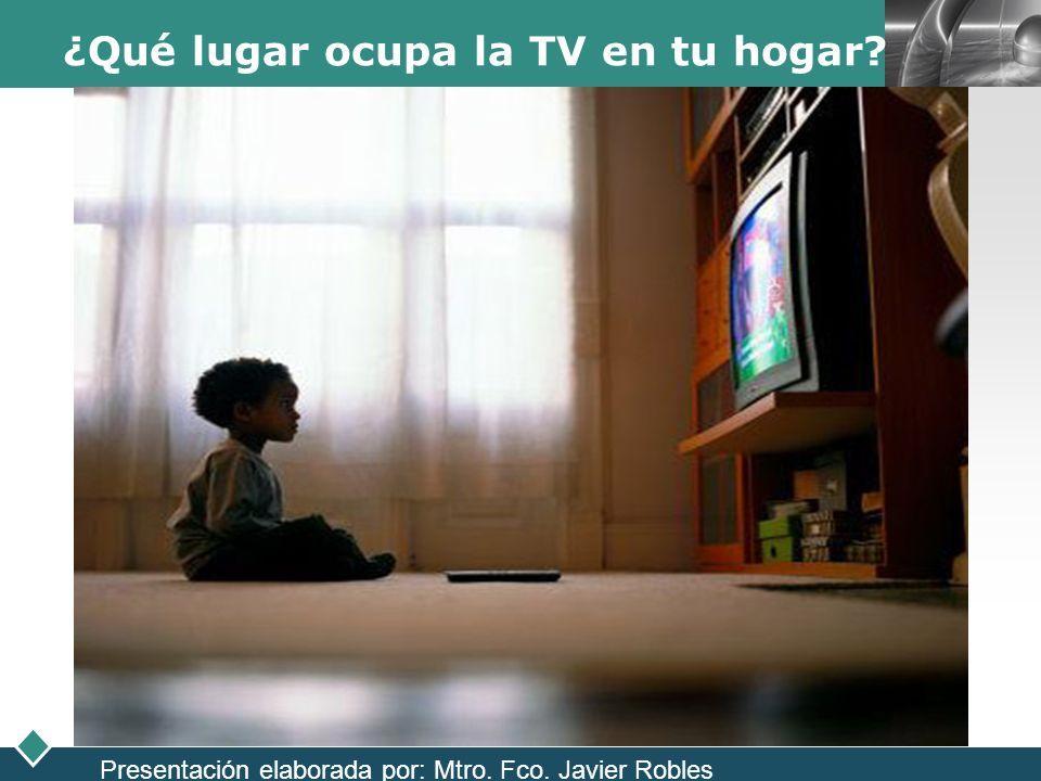 ¿Qué lugar ocupa la TV en tu hogar