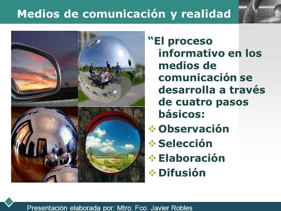 Medios de comunicación y realidad
