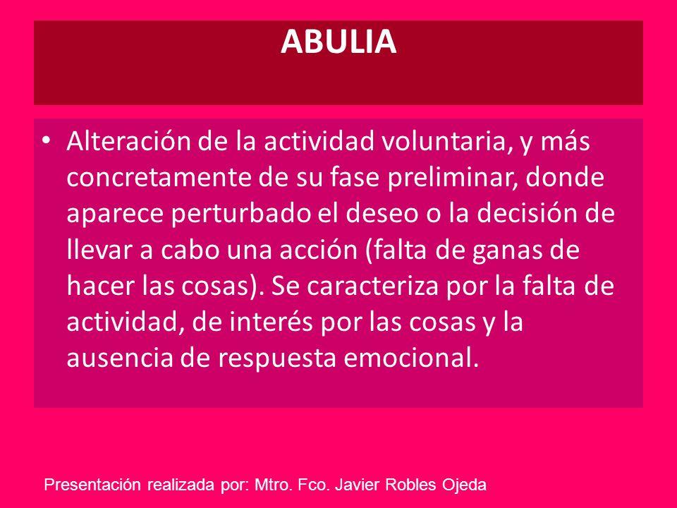 ABULIA