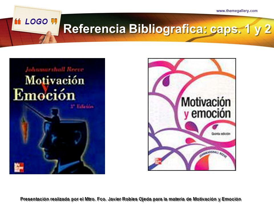 Referencia Bibliografica: caps. 1 y 2