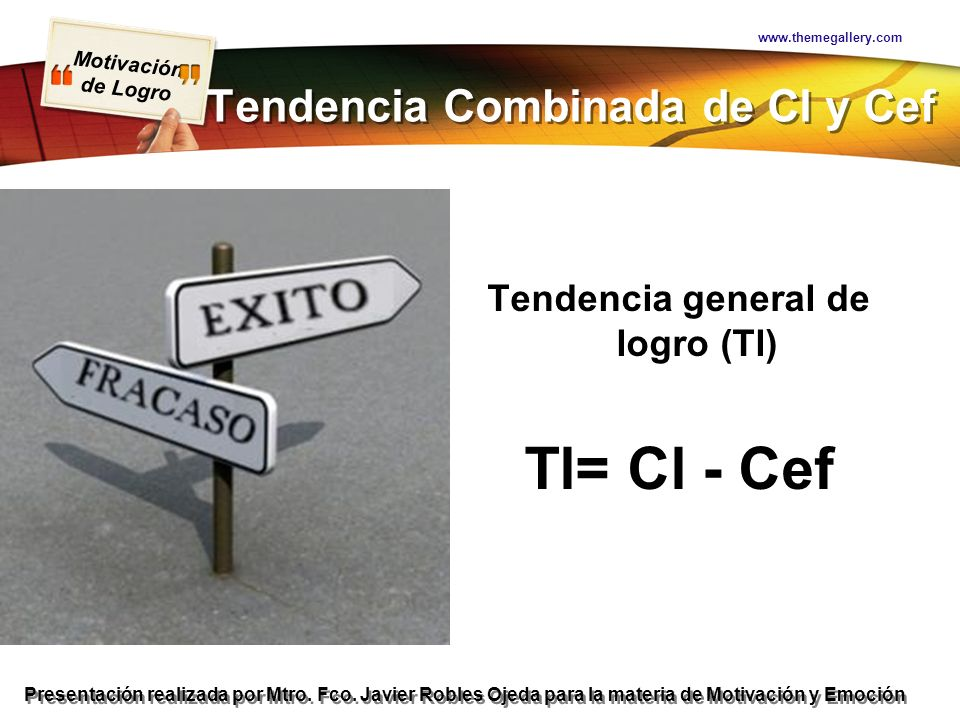 Tendencia Combinada de Cl y Cef