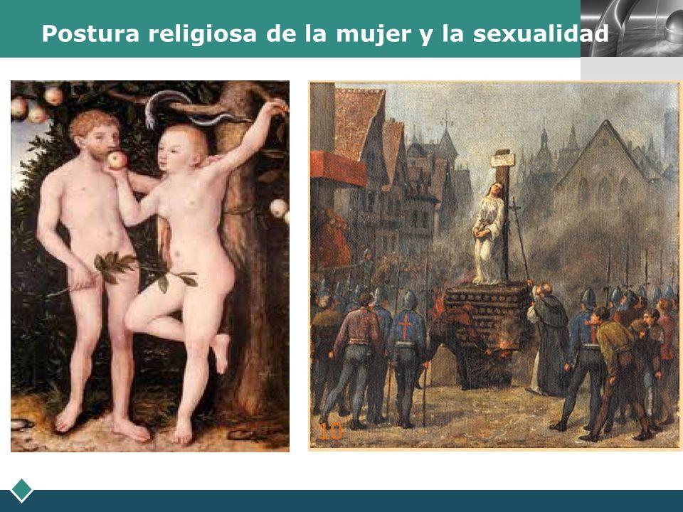 Postura religiosa de la mujer y la sexualidad