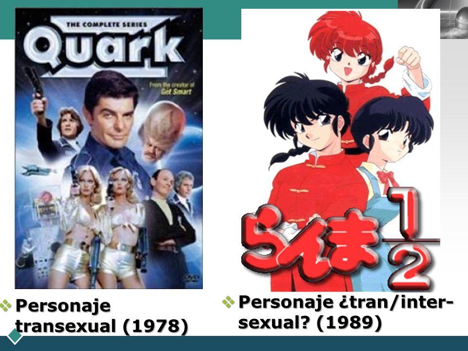 Personaje ¿tran/inter-sexual (1989)